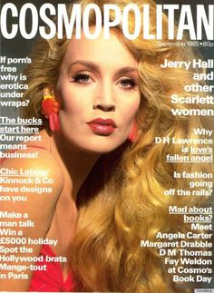 jerry hall fashion covers | Jerry Hall's Magazine Covers: Her Best Moments In The Spotlight ...