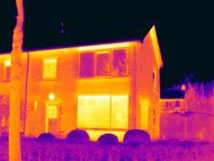 Afgelopen nacht waren we in #Borger voor een #thermografie controle van een woning met comfortklachten zoals #tocht en #vocht: www.energiekeurplus.nl