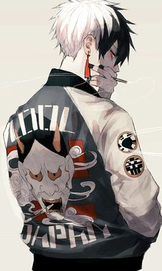 Sakusha 2 pr contract on - idk - Anime Dark Anime, M Anime, Hot Anime Boy, Fanarts Anime, Cute Anime Guys, Anime Art, Anime Boys, Anime Style, Art Manga