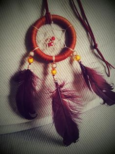 My diy dreamcatcher necklace!