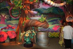 Disney Fairies debut at Fairytale Pavilion in Magic Kingdom Attraction World, Pixie Hollow, Disney Fairies, Magic Kingdom, Walt Disney World, Pavilion, Fairytale, Archive