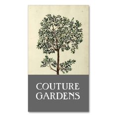 Vintage Olive Tree Gardener Business Card. This is a fully customizable business card and available on several paper types for your needs. You can upload your own image or use the image as is. Just click this template to get started!