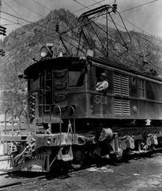 Great Northern Railway Electric Locomotive.
