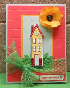 """""""Sun""""flower House by Stampin' Camper - Cards and Paper Crafts at Splitcoaststampers"""