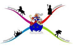 Mindmap Map, Education, School, Google, Halloween, Location Map, Maps, Onderwijs, Learning