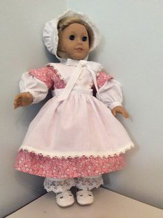 American girl historical doll clothes by DollClothes4You on Etsy, $25.00