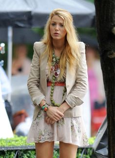 Blake Lively ...... Her full names are Blake Ellender Lively