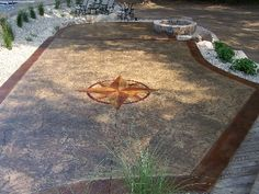 Stamped Concrete Patio Cool