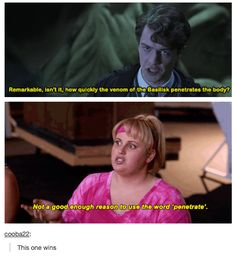 Recently rewatched this movie and Rebel Wilson immediately popped in my head!!