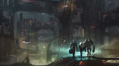 Corrupted City #Outlaws and #space #pirates in one of our #Sci-fi #game concept!