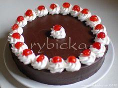 Pravý pařížský dort s krájecí polevou