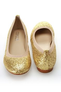 21107baa4a Andrew Stevens Amira Flats In Gold Gold Flats, Gold Shoes, Boogie Shoes,  Love