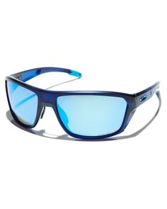91dc3a6c7ae Oakley Split Shot Polarized Fishing Sunglasses Matte Trans Blue Mens  sunglasses Size