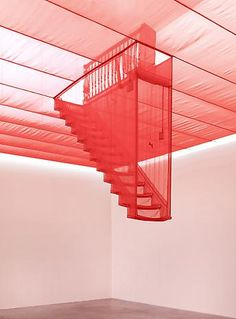 Do Ho Suh  Staircase-III, 2003/2010 http://www.lehmannmaupin.com/artists/do-ho-suh