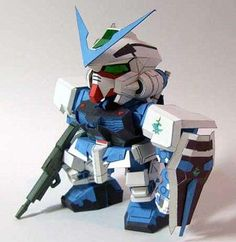 DIY Paperbots - Create Your Own Papercraft Gundam Using Simple Instructions (GALLERY)