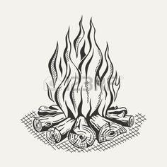 http://us.123rf.com/450wm/juliannamillion/juliannamillion1508/juliannamillion150800011/43580361-illustration-of-isolated-camp-fire-on-white-background-monochrome.jpg?ver=6