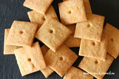 "Grain Free ""Cheez-Its"" Crackers"