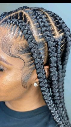Cornrow Hairstyles For Men, Feed In Braids Hairstyles, Braids Hairstyles Pictures, Black Girl Braids, Braided Hairstyles For Black Women, Braids For Black Hair, African Hairstyles, Black Girl Braid Styles, Cornrows Braids For Black Women