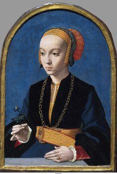 Portrait of Elizabeth Bellinghausen, 1538-1539, Barthel Bruyn the Elder, Cologne