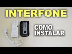 Como instalar porteiro eletrônico com fechadura elétrica - YouTube