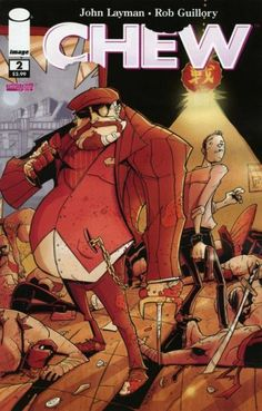 Vault 35 CHEW #54 Image Comics NM