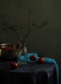 Inga, Still Life With Blue Scarf No.1