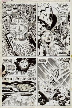 Jack Kirby and Joe Sinnott Fantastic Four #99 p 5 (1970)