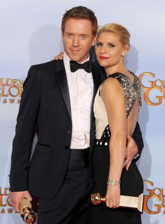 Golden Globe 2012: HOMELAND! - Claire Danes and Damian Lewis