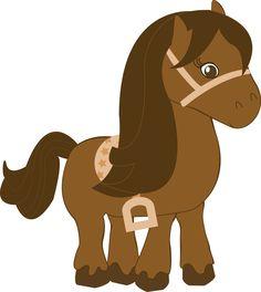 Cowboy e Cowgirl - Minus Cowboy Birthday Party, Cowgirl Party, Farm Birthday, Cowboy And Cowgirl, Dibujos Baby Shower, Farm Animals, Cute Animals, Animal Cutouts, Dream Catcher Art