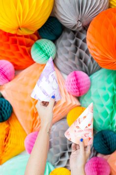 DIY Printable Party Hats