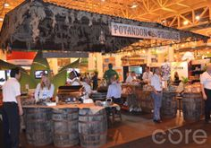 @Klondike Brands Potatoes and Potandon Produce's Bayou Booth! Fresh Summit 2013: What Blew Us Away!