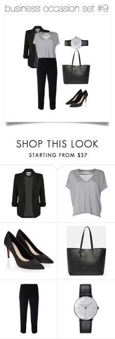"""""""business occasion set #9"""" by regina012014 on Polyvore featuring мода, Pilot, Acne Studios, Monsoon, Yves Saint Laurent, Chloé и Klein & more"""