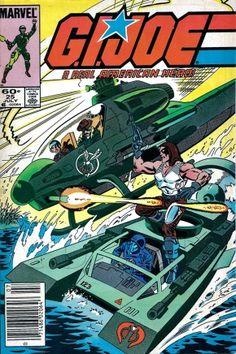 G.I 1984 Marvel Joe A Real American Hero #20 Newsstand ~ NEAR MINT NM ~