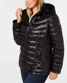 Plus Size Black Hooded Packable Down Puffer Coat Calvin Klein. Black Hooded Down Puffer Coat Plus Size. Love this Calvin Klein down hooded plus size black puffer coat plus size women's.