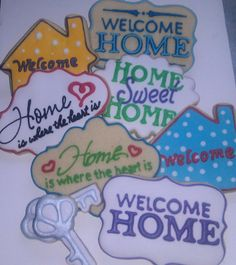 House Warming Gift  by Custom Cookies by Jill, via Flickr