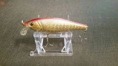 """20 Adjustable 3 Part 2"""" Display Stand For South Bend Creek Chub Fishing Lures"""