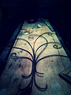 Árbol decorativo en hierro (en proceso)