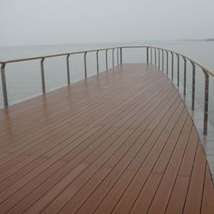 The most natural looking composite decking. Quality wood composite decking board timber, one of the best Co-extruded decking with warranty. Modern Deck, Composite Decking, Wall Cladding, Nice Place, Best Budget, Building Materials, Decks, Flooring, Wood