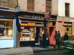 Soho coffee-houses in colour, London | Retronaut