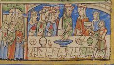 Psalter, England, Canterbury, 1155-1160, MS M.521r