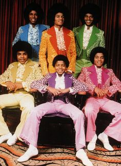 From Motown the Musical: The Jackson 5 Jackson 5, Jackson Family, Music Icon, Soul Music, Motif Music, Hiphop, Vintage Black Glamour, The Jacksons, African American History
