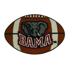 Alabama Crimson Tide FanMats Football Rug