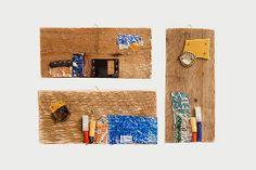 Reclaimed Wood Creative Upcycling  Set of 3 by LaBottegaDegliUsvei, €66.00