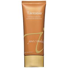 Jane Iredale Tantasia Self Tanner (2,375 INR) ❤ liked on Polyvore featuring beauty products, bath & body products, sun care, filler and jane iredale