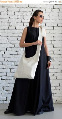 Etsy - Shopping Cart Black And White Bags, Black Tote, Look Fashion, Womens Fashion, White Shoulders, White Shoulder Bags, Designer Shoulder Bags, Blue Maxi, Clutch