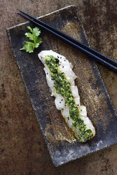 Laure Kié - Page 5 sur 58 - Cuisine franco-japonaise Sashimi, Seafood Recipes, Cooking Recipes, Asian Recipes, Ethnic Recipes, Fusion Food, Asian Cooking, Molecular Gastronomy, Fish And Seafood