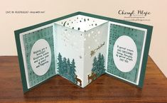 """Cheryl Algie """"Independent Stampin' Up! ® Demonstrator"""" : ESAD 2017 HOLIDAY CATALOGUE FANCY FOLDS AND 3 D PROJECTS BLOG HOP"""