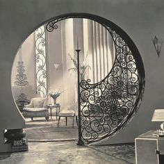 The interior of your Home is the keyhole to peace. Agree? Source: Pinterest
