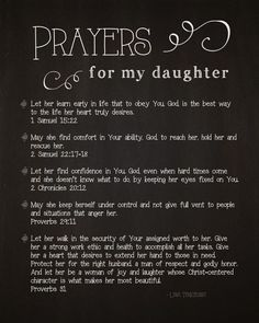 Seeking scripture to aid in fighting for your daughter's heart? This is a free '5 Prayers for My Daughter' printable, originally written by Lysa Terkeurst. daughters prayer, prayer for my daughter, lysa terkeurst quotes, my daughters, prayer for baby girl, babi, prayer for daughter graduation, prayers for daughters, prayers for my daughter - Wisdom Quotes - BrowseQuotes.