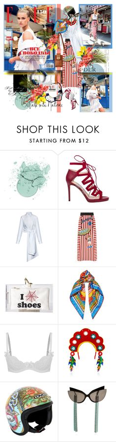 """DLR -Luxury Boutique"" by merrygorounds ❤ liked on Polyvore featuring Jimmy Choo, Dolce&Gabbana, Charlotte Olympia, L'Agent By Agent Provocateur, DMD Helmets, allaboutme, polyvorecommunity, polyvoreeditorial and dlrboutique"
